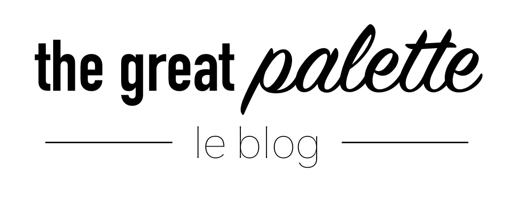 Blog The great Palette