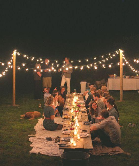 Des idées pour un mariage guinguette