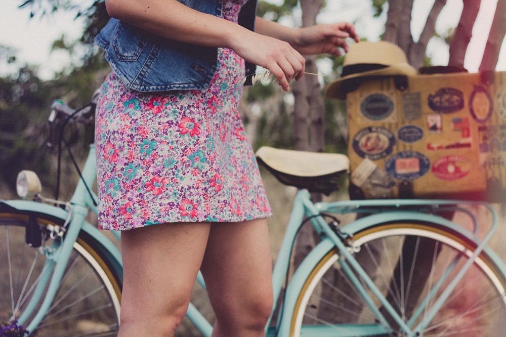 Balade à vélo comme activité pour un enterrement de vie de jeune fille