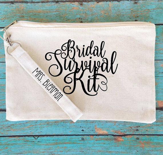 Trousse pour kit de survie de la mariée