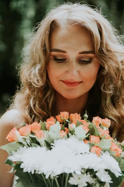 Des idées pour un mariage corail - Photographe : Eugénie Hennebicq