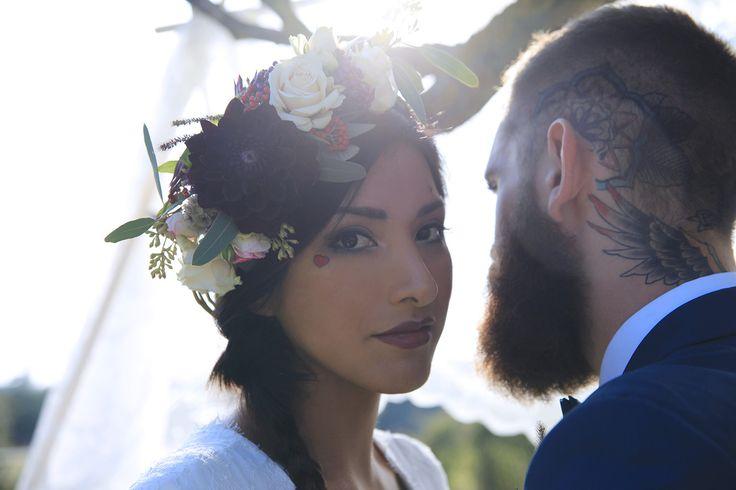 Des idées pour un mariage rock à découvrir sur le site d'inspirations mariage The great Palette - Photographe : Cillia Ciabrini