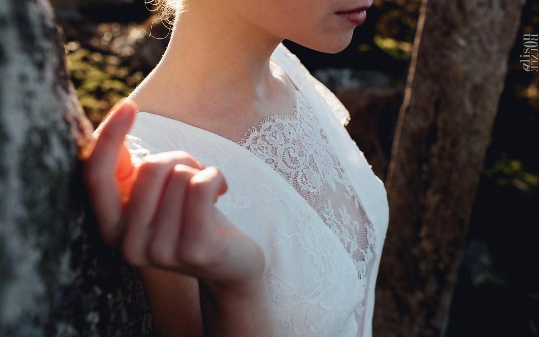 Les robes de mariée civiles de Caroline Quesnel