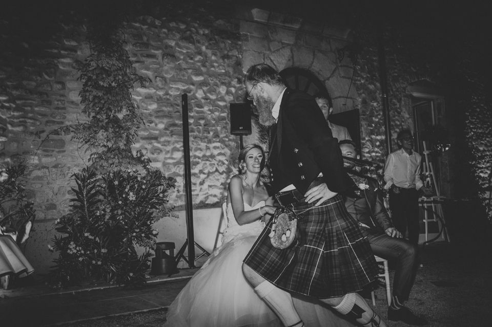 Soirée d'un mariage en Provence - Photographe : Madame A Photographie