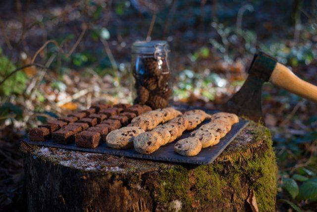 Cookies et brownies cuisinés par La Chill Zone - Food truck basé à Annecy qui se déplace sur votre mariage - Photographe : Tom Grall