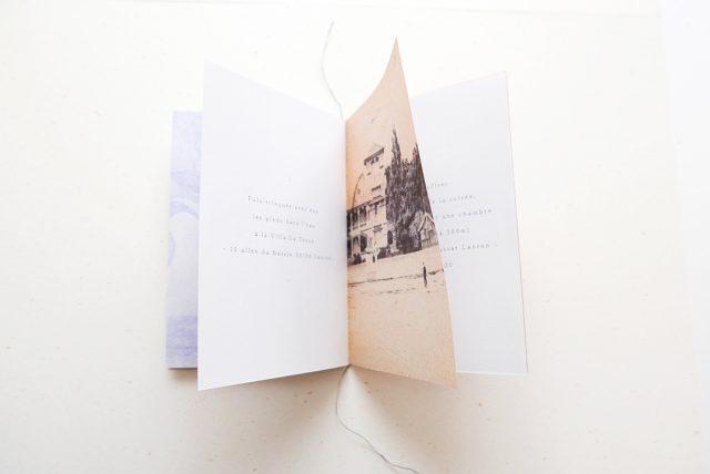 Invitation carnet de voyage créé par Allons-y Alonso
