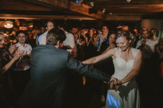Souvenir de la soirée d'un mariage au Col des Aravis - Photographe de mariage : Gérald Mattel
