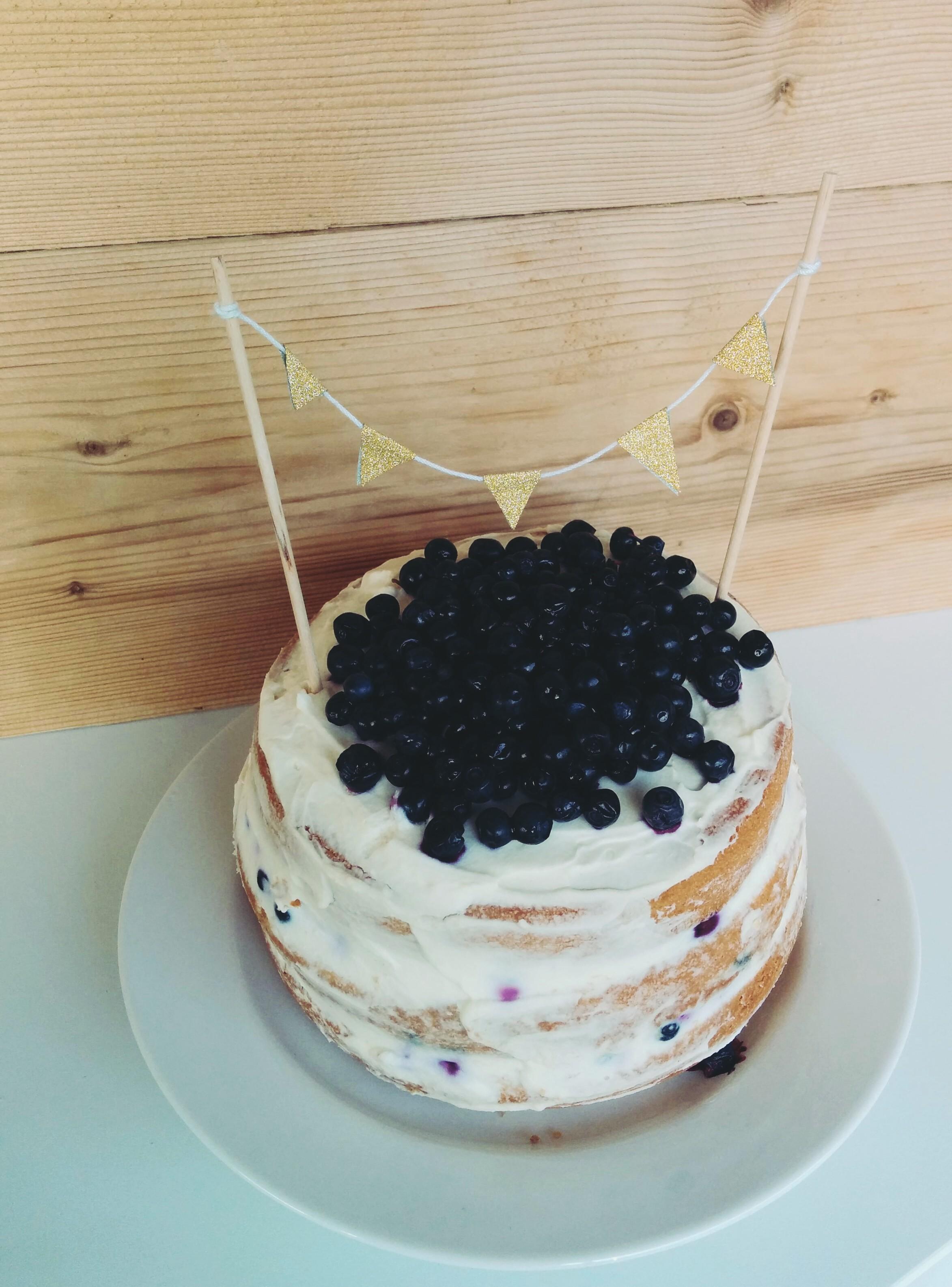 Une recette de naked cake facile