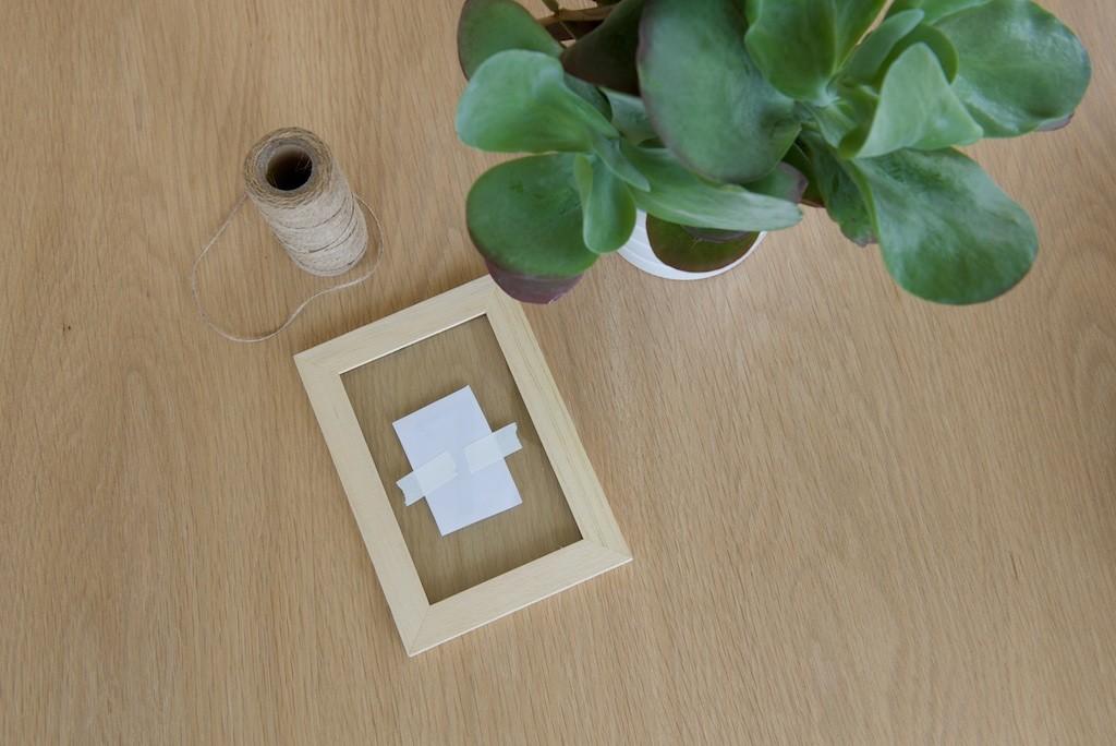 Etape 2 pour réaliser des numéros de table simples et durables