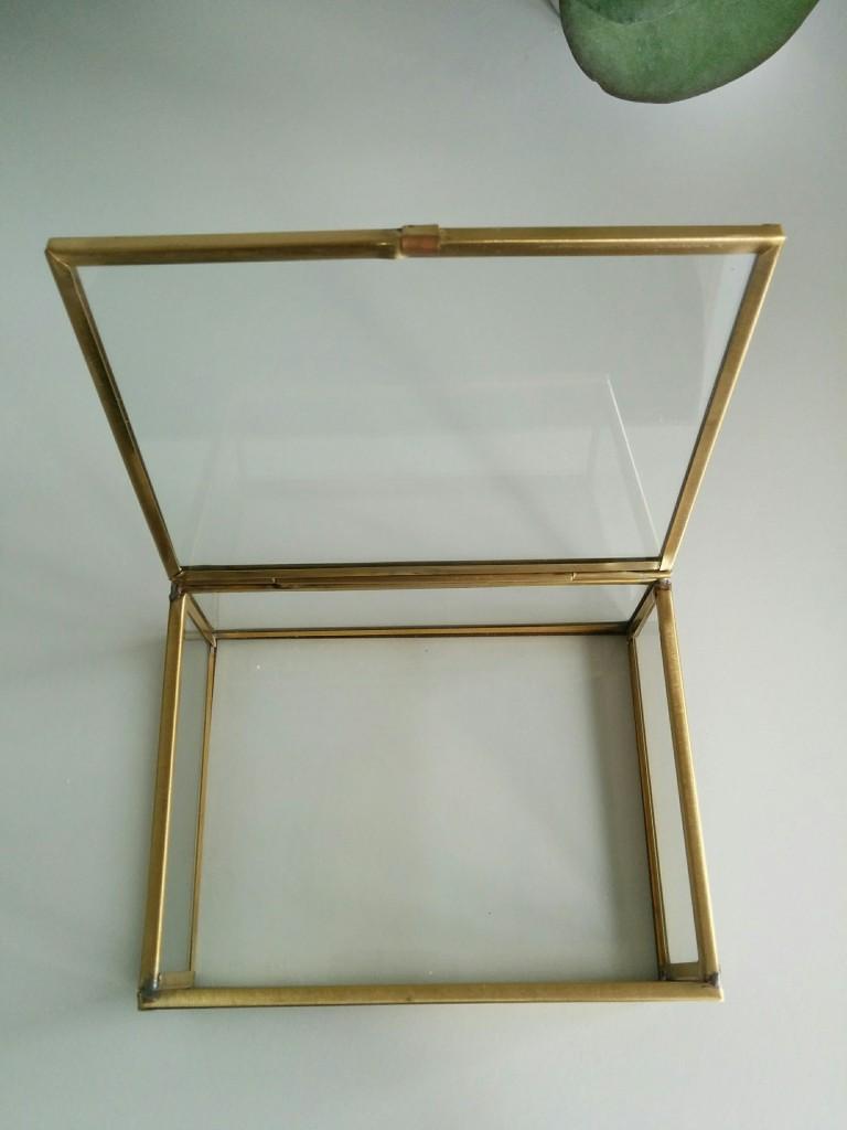 Porte-alliances en verre vintage à personnaliser - The great Palette